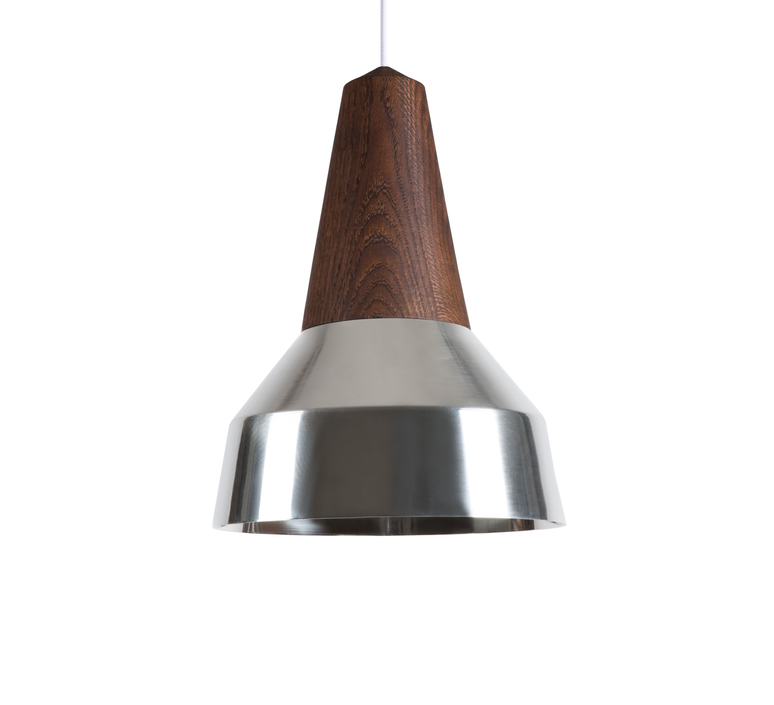 Ray julia mulling et niklas jessen suspension pendant light  schneid eikon ray black oak chrome  design signed nedgis 66399 product