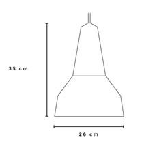 Ray julia mulling et niklas jessen suspension pendant light  schneid eikon ray black oak brass  design signed nedgis 66395 thumb