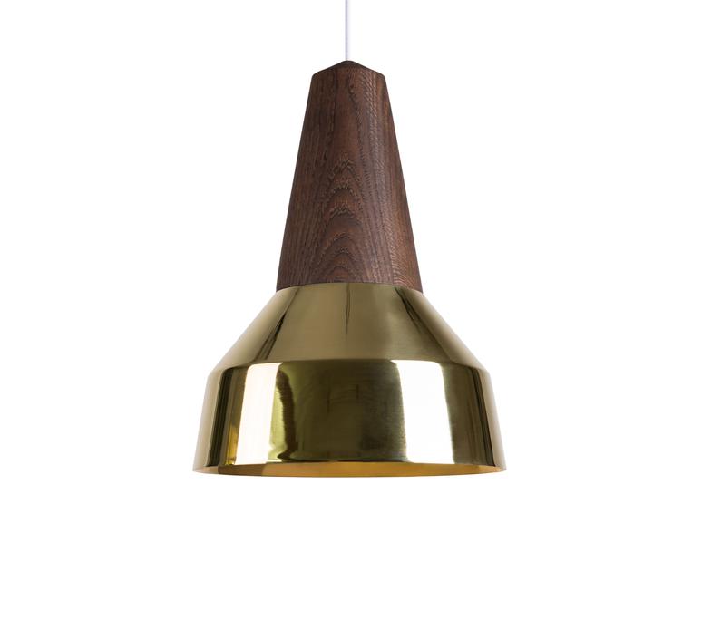 Ray julia mulling et niklas jessen suspension pendant light  schneid eikon ray black oak brass  design signed nedgis 66396 product