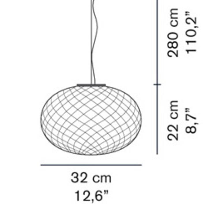 Recuerdo 484 mariana pellegrino suspension pendant light  oluce recuerdo484  design signed 40564 product