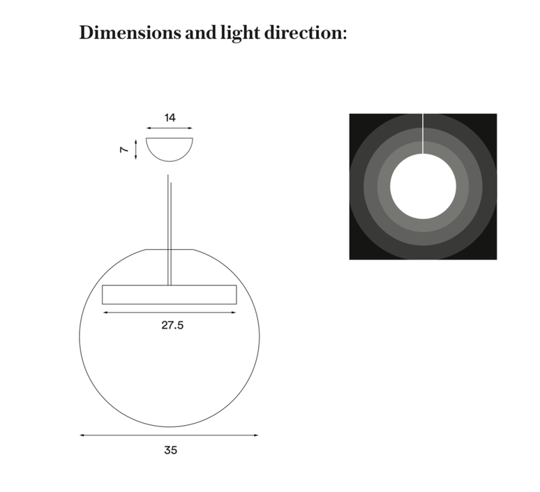 Reveal silje nesdal suspension pendant light  nothern lighting 190  design signed nedgis 63470 product