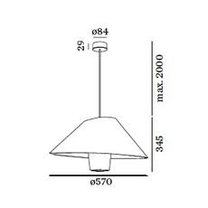 Rever suspended 1 0 studio wever ducre suspension pendant light  wever et ducre 6521etgcb  design signed nedgis 66206 thumb