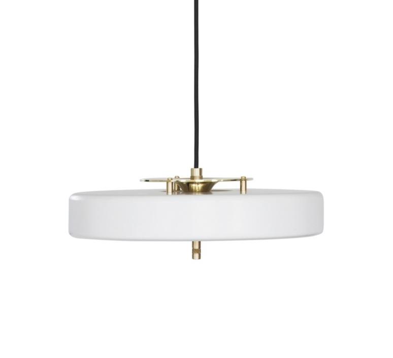 Revolve  suspension pendant light  bert frank revolve pendant lamp white  design signed 36042 product
