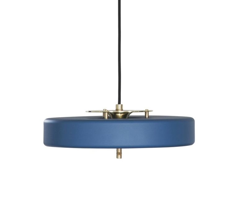Revolve  suspension pendant light  bert frank revolve pendant lamp blue  design signed 36043 product