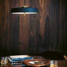 Revolve  suspension pendant light  bert frank revolve pendant lamp blue  design signed 94409 thumb