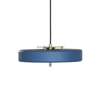 Suspension revolve bleu led o35cm h40cm bert frank normal