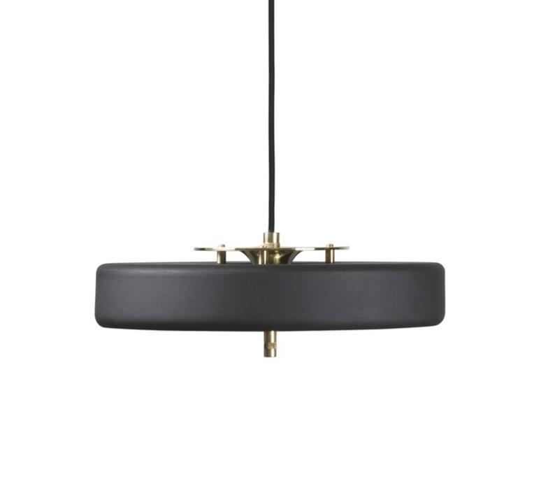 Revolve  suspension pendant light  bert frank revolve pendant lamp black  design signed 36039 product