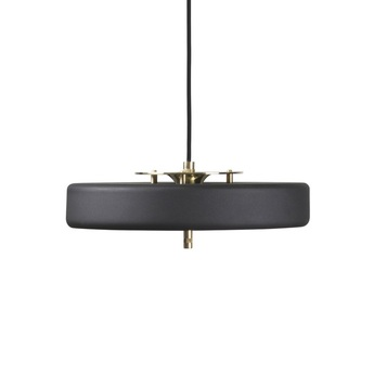 Suspension revolve noir led o35cm h40cm bert frank normal