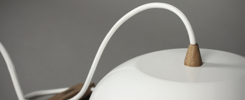 Suspension rhoda cl blanc or o25cm lampari normal