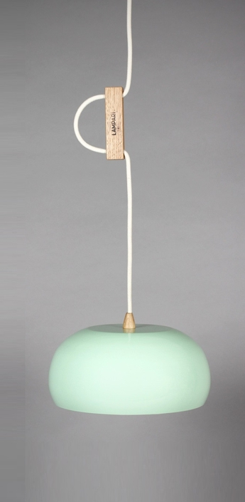 Suspension rhoda cl vert celadon o25cm lampari normal