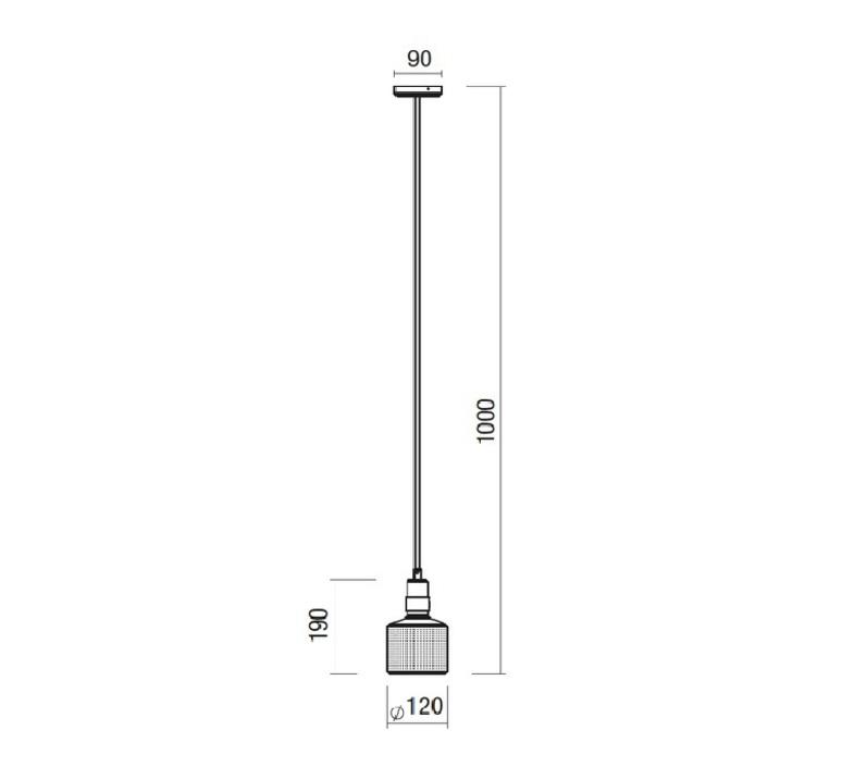 Riddle  suspension pendant light  bert frank riddle pendant lamp brass black  design signed 36075 product