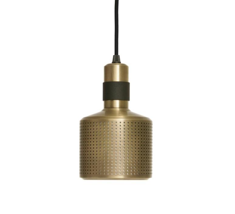Riddle  suspension pendant light  bert frank riddle pendant lamp brass black  design signed 36076 product
