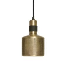 Riddle  suspension pendant light  bert frank riddle pendant lamp brass black  design signed 36076 thumb
