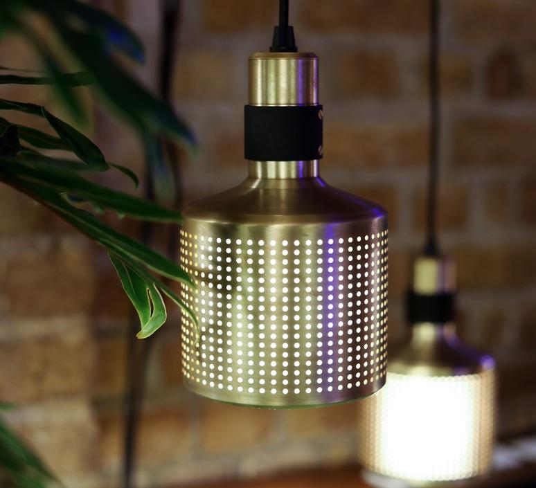 Riddle  suspension pendant light  bert frank riddle pendant lamp brass black  design signed 75284 product