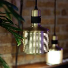 Riddle  suspension pendant light  bert frank riddle pendant lamp brass black  design signed 75284 thumb