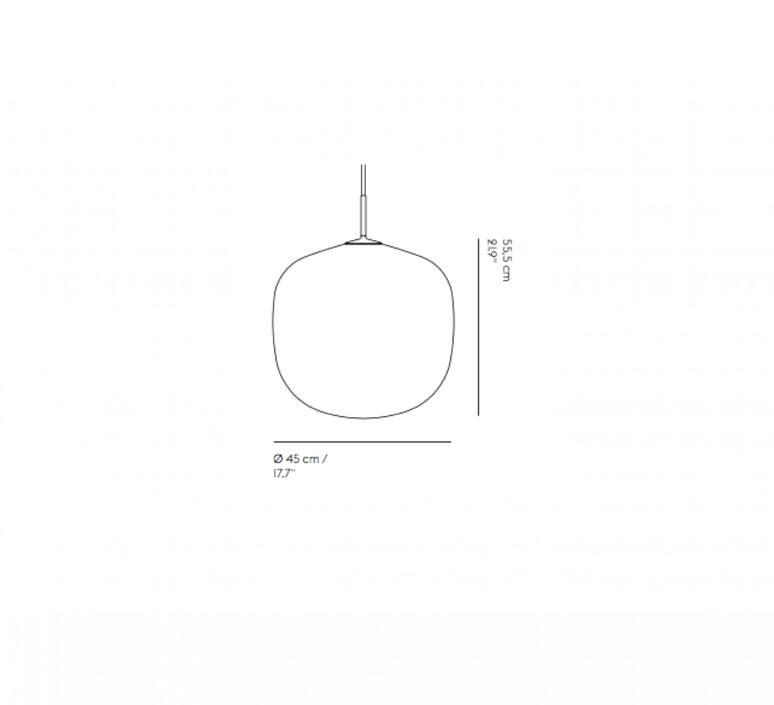 Rime taf architects suspension pendant light  muuto 22413  design signed nedgis 94074 product
