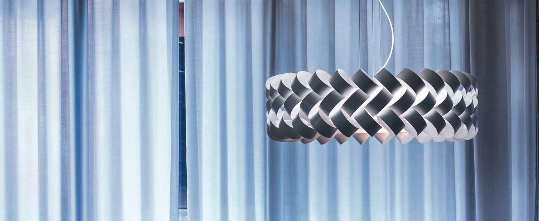 Suspension ring 800 blanc o80cm h39cm palluco normal