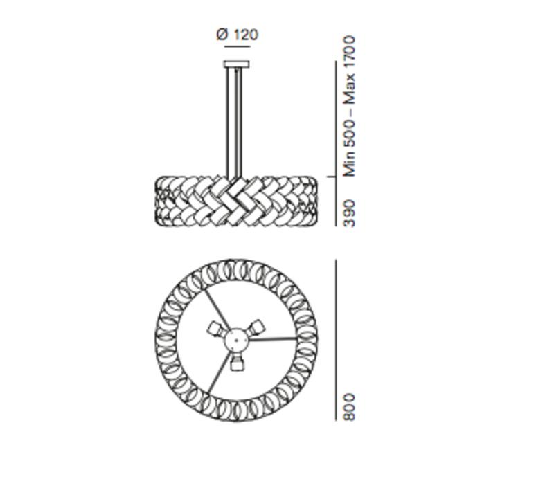 Ring 800 brian rasmussen suspension pendant light  palluco rings220462  design signed 47856 product