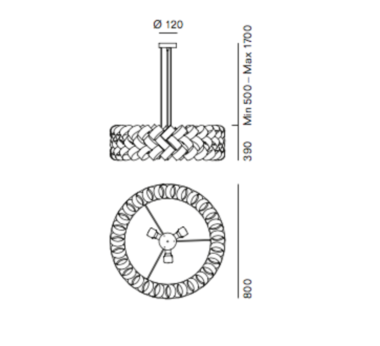 Ring 800 brian rasmussen suspension pendant light  palluco rings220468  design signed 47860 product