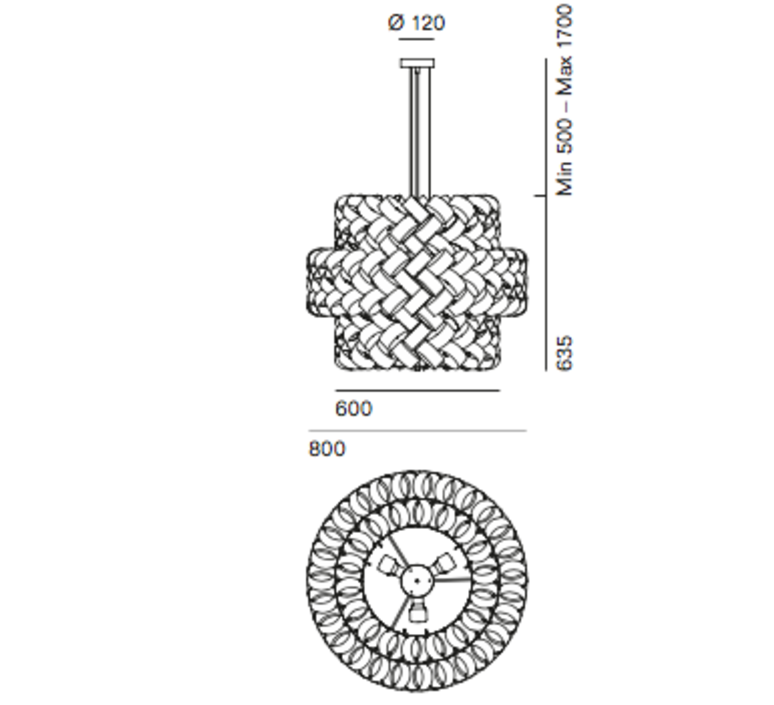 Ring mix brian rasmussen suspension pendant light  palluco rngm120468  design signed 47869 product