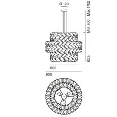Ring mix brian rasmussen suspension pendant light  palluco rngm120468  design signed 47869 thumb