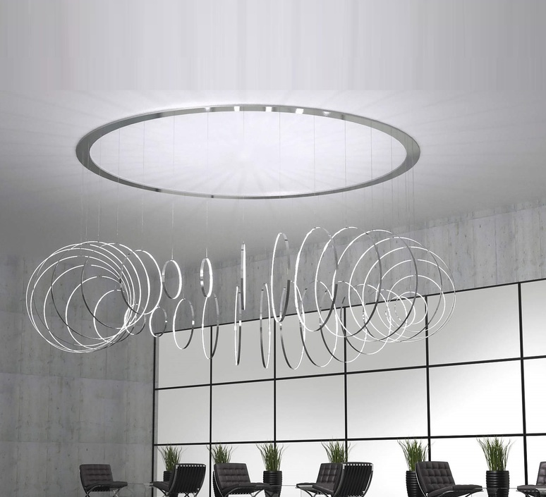 Rings valerio cometti zava rings d50cm pure white 9010 luminaire lighting design signed 17611 product