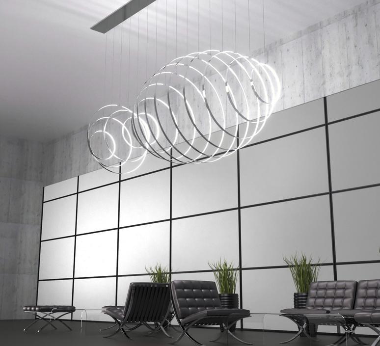 Rings valerio cometti zava rings d50cm jet black 9005 luminaire lighting design signed 66177 product