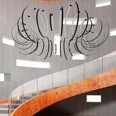 Rings valerio cometti zava rings d50cm jet black 9005 luminaire lighting design signed 66197 thumb
