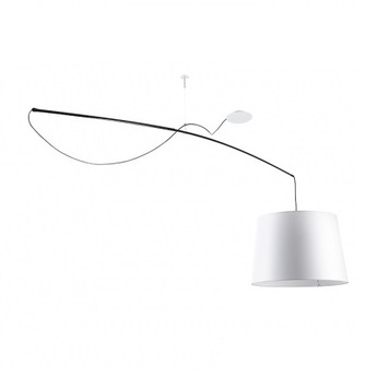 Suspension robinson blanc l200cm o50cm carpyen normal