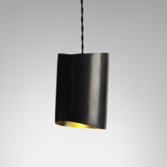 Suspension rollo bronze laiton l10cm h17cm cto lighting normal