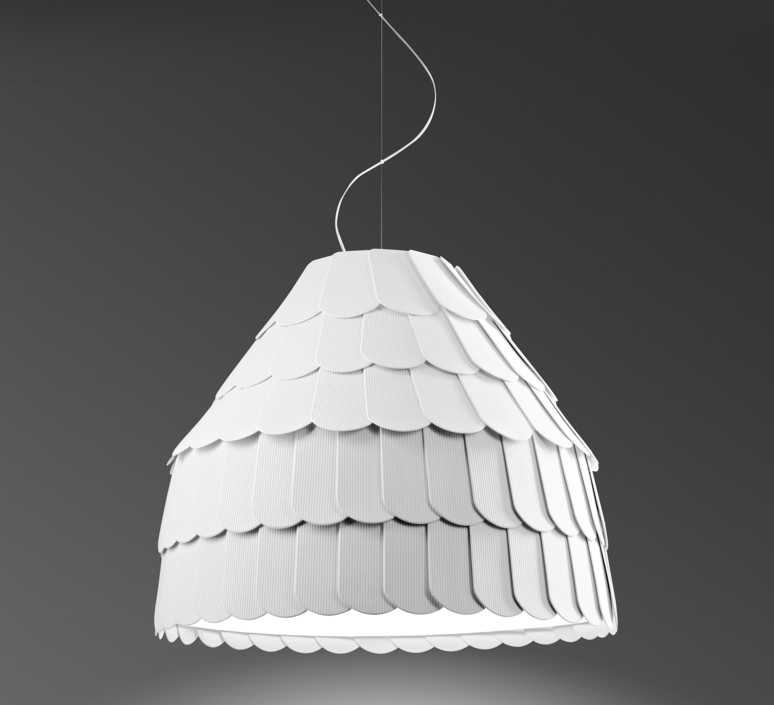 Roofer f12 high benjamin hubert suspension pendant light  fabbian f12a01 01  design signed 40024 product