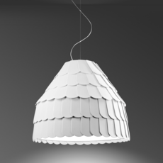 Roofer f12 high benjamin hubert suspension pendant light  fabbian f12a01 01  design signed 40024 thumb
