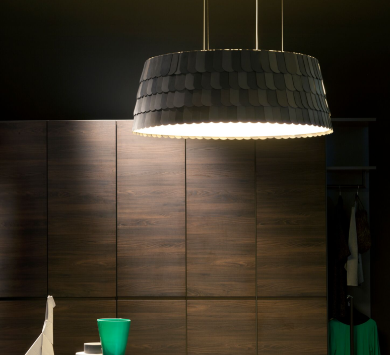 Roofer f12 low devis busato giulia ciccarese suspension pendant light  fabbian f12a09 21  design signed 40016 product