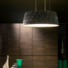 Roofer f12 low devis busato giulia ciccarese suspension pendant light  fabbian f12a09 21  design signed 40016 thumb
