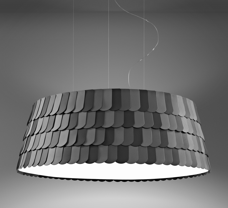 Roofer f12 low devis busato giulia ciccarese suspension pendant light  fabbian f12a09 21  design signed 40017 product