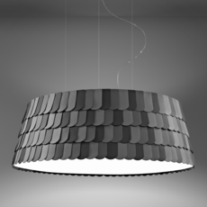 Roofer f12 low devis busato giulia ciccarese suspension pendant light  fabbian f12a09 21  design signed 40017 thumb