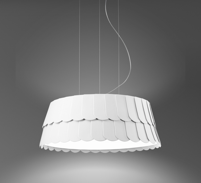 Roofer f12 low devis busato giulia ciccarese suspension pendant light  fabbian f12a05 01  design signed 40010 product
