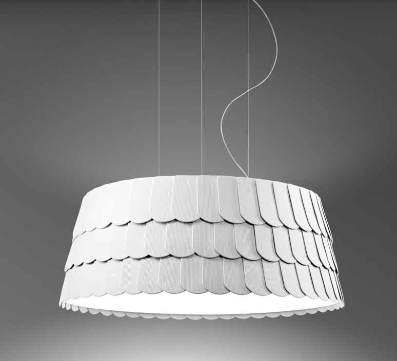 Roofer f12 low devis busato giulia ciccarese suspension pendant light  fabbian f12a07 01  design signed 79468 product