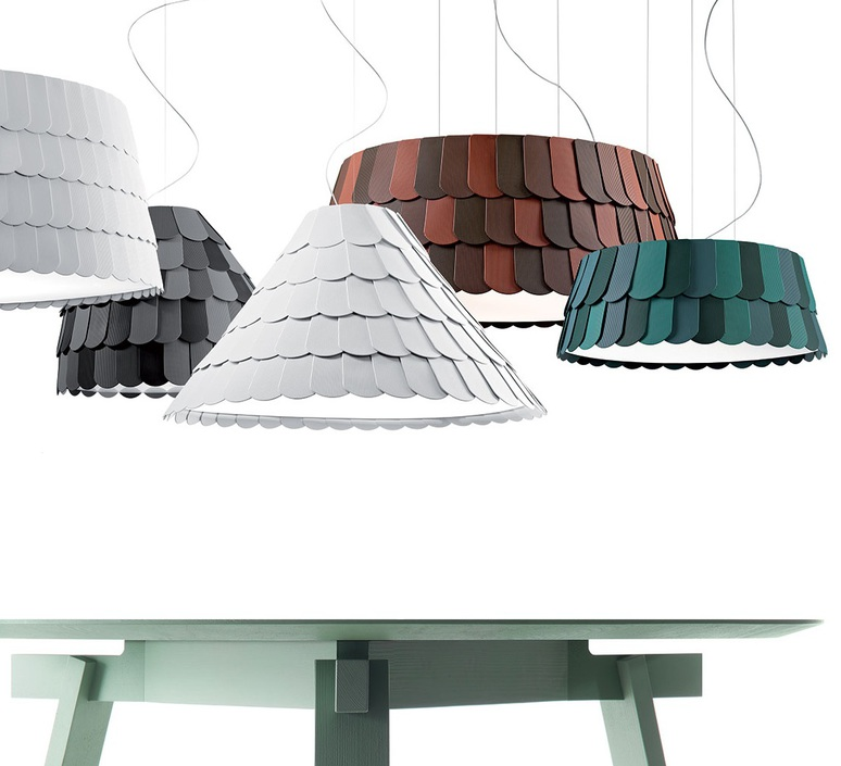 Roofer f12 low devis busato giulia ciccarese suspension pendant light  fabbian f12a07 01  design signed 79472 product