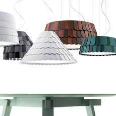 Roofer f12 low devis busato giulia ciccarese suspension pendant light  fabbian f12a07 01  design signed 79472 thumb