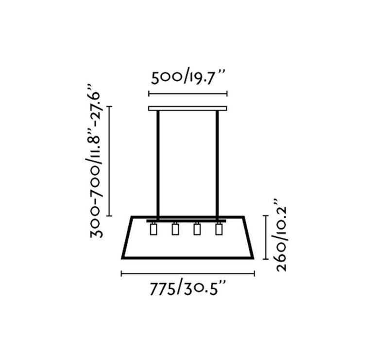 Rose  suspension pendant light  faro 65081  design signed 38252 product
