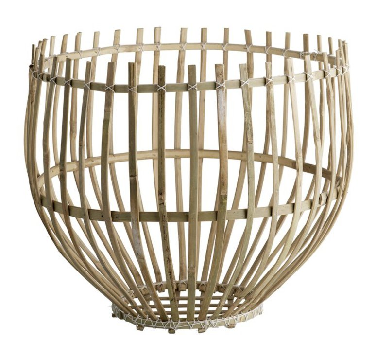 Round basket l studio tine k home  suspension pendant light  tine k home basdome lamp  design signed 55338 product