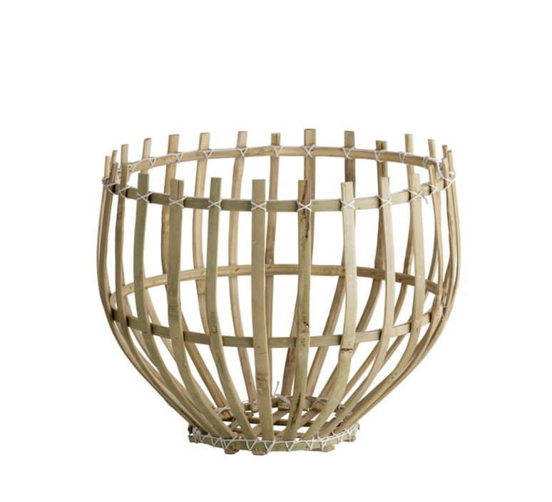 Round basket m studio tine k home  suspension pendant light  tine k home basdome m  design signed 55330 product