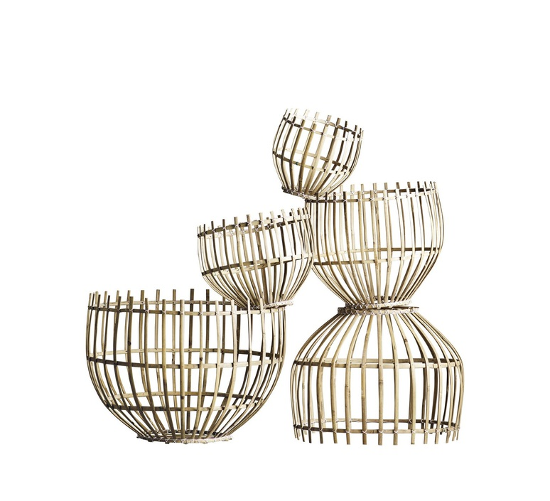 Round basket m studio tine k home  suspension pendant light  tine k home basdome m  design signed 55331 product