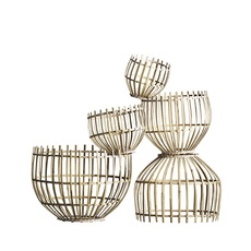 Round basket m studio tine k home  suspension pendant light  tine k home basdome m  design signed 55331 thumb