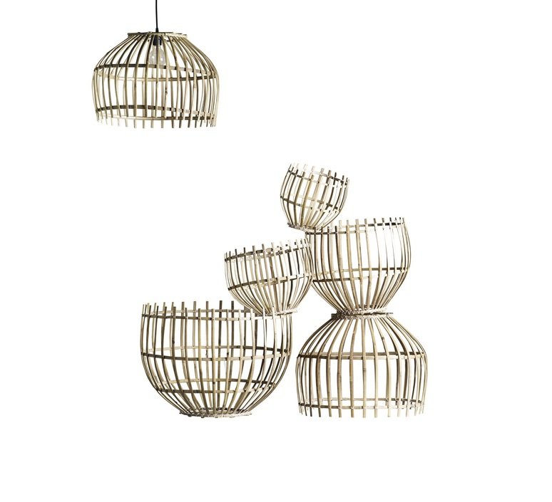 Round basket m studio tine k home  suspension pendant light  tine k home basdome m  design signed 55332 product