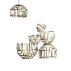 Round basket m studio tine k home  suspension pendant light  tine k home basdome m  design signed 55332 thumb