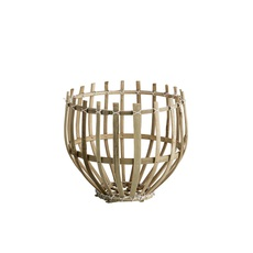 Round basket xs studio tine k home  suspension pendant light  tine k home basdome xs  design signed 55341 thumb