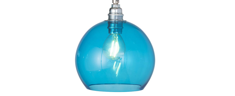 Suspension rowan 15 5 bleu piscine o15 5cm h15 5cm ebb and flow normal