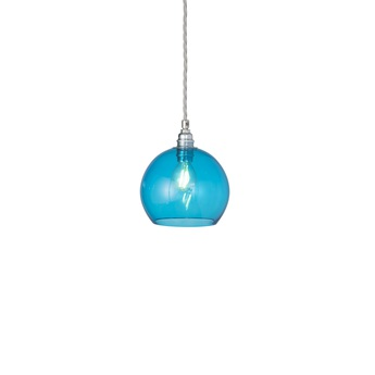 Suspension rowan 15 5 bleu piscine o15 5cm h15 5cm ebb and flow normal